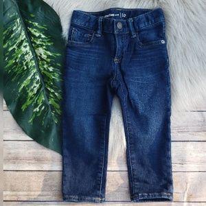 Baby Gap Slim Fit Dark Wash Skinny Jeans